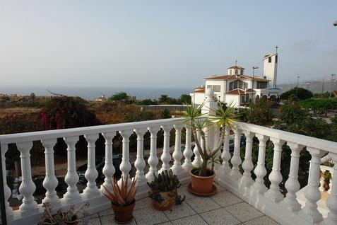 Traumhafter Meerblick vom Balkon