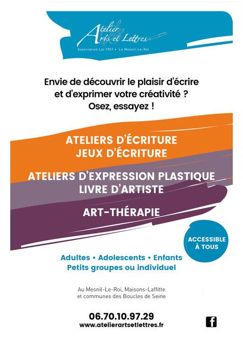 Ateliers d'écriture Le Mesnil Le Roi 78600