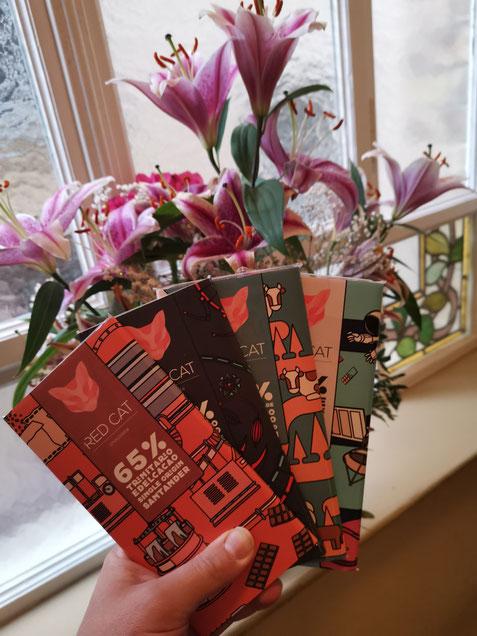 Food Blog Kooperation mit Red Cat Chocolate und Tonistrendlupe