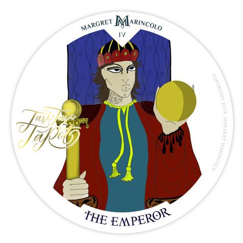 Tarot Tageskarte - Der Herrscher