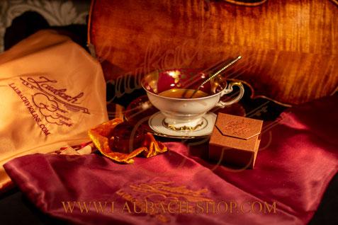 мешок - шелковый защитный чехол LAUBACH для скрипки купить