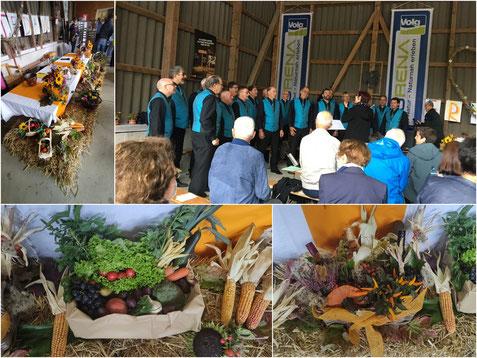 Erntedankgottesdienst auf dem Erlenhof in Wittnau
