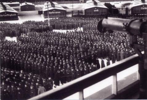 Zählappell im Winter 1941/42