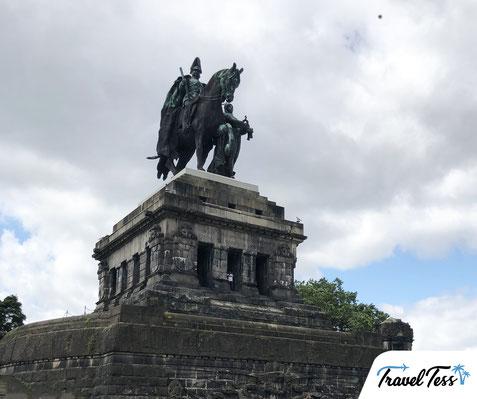 Deutsches Eck standbeeld