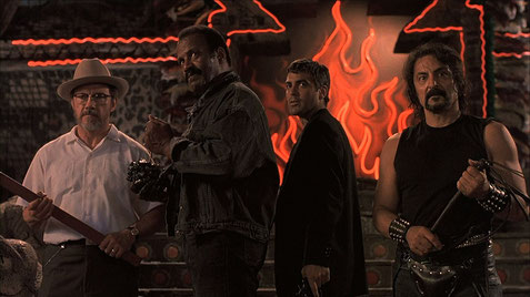 The Hammer mit George Clooney, Tom Savini und Harvey Keitel in From Dusk Till Dawn