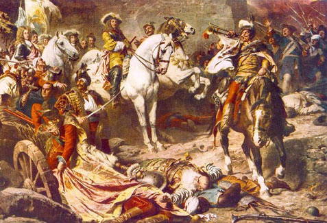De bevrijding v. Boeda in 1686