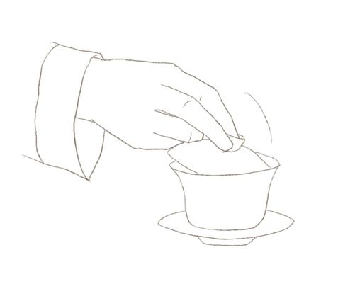 蓋碗を使った中国茶の淹れ方