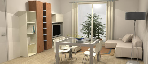 Consulenza designer di interni per guidarti nell'acquisto della casa.