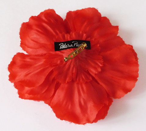 BROCHE-FLEUR ROUGE SIGNEE PALOMA PICASSO