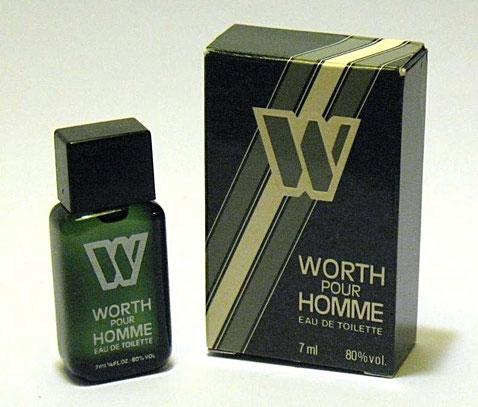 WORTH POUR HOMME : EAU DE TOILETTE 7 ML