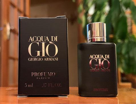 2019 - ACQUA DI GIO : PROFUMO, PARFUM 5 ML