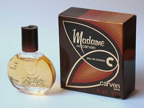 MADAME CARVEN - MINIATURE  EAU DE TOILETTE 5 ML