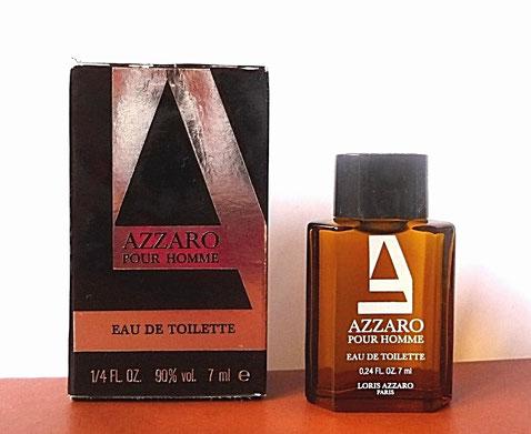 AZZARO POUR HOMME - AUTRE VARIANTE DE LA MINIATURE - EAU DE TOILETTE 7 ML