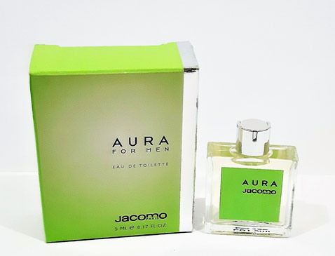 JACOMO - AURA FOR MEN : EAU DE TOILETTE5 ML