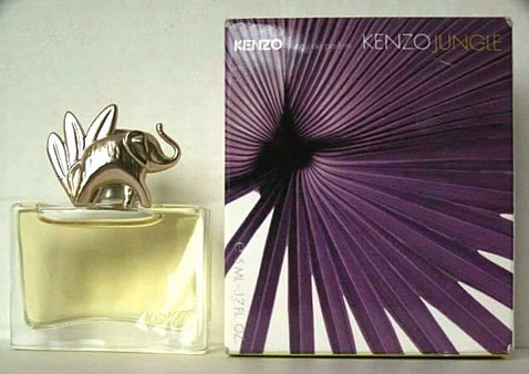 KENZO JUNGLE - L'ELEPHANT : 5 ML - BOÎTE DIFFERENTE DE LA PRECEDENTE