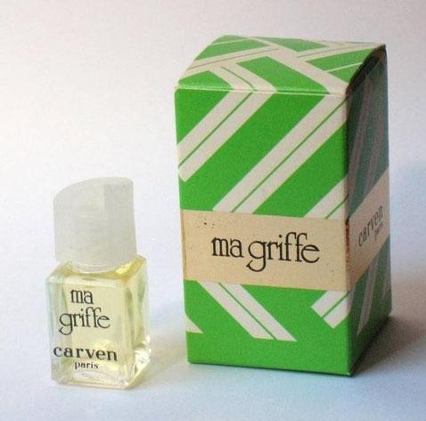 MA GRIFFE - EAU DE TOILETTE - BOUCHON PLASTIQUE BLANC