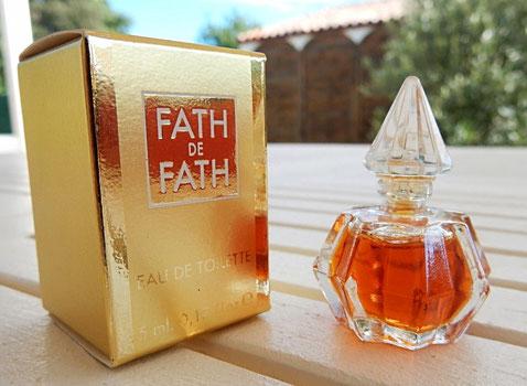 FATH DE FATH - MINIATURE EAU DE TOILETTE 5 ML - IDENTIQUE A LA PHOTO PRECEDENTE