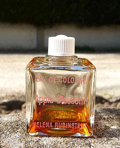 HELENA RUBINSTEIN - APPLE BLOSSOM : FLACON 1ère TAILLE EAU DE COLOGNE