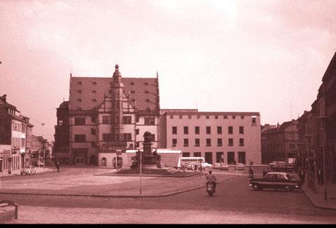 Marktplatz ca. 1960/61