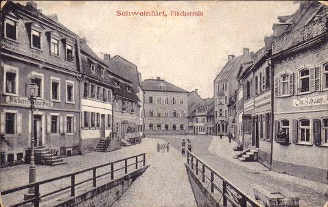 Der Fischerrain um 1910