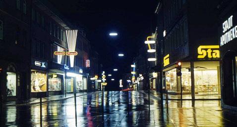 Blick in der Rückertstraße