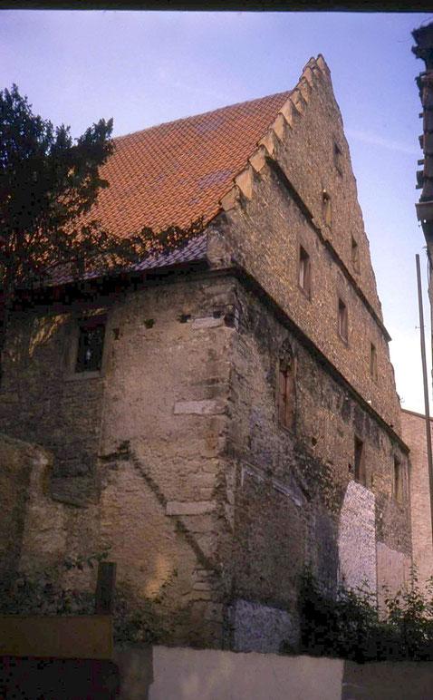 Ebracher Hof vor der Sanierung