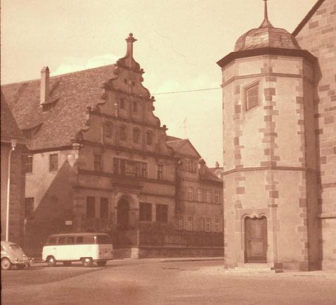 Museum und Johanniskirche in den 1960ern