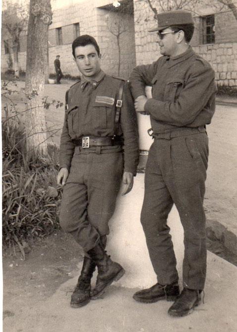 Mi primo Enrique y un amigo. F. P. Privada.