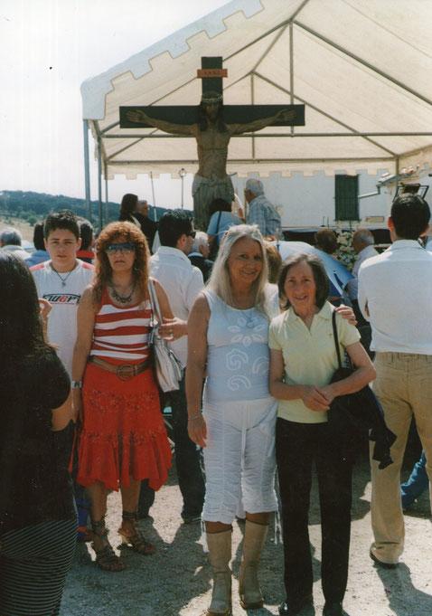 Con Tina, Cristo de Cabrera. F. Pedro. P. Privada.