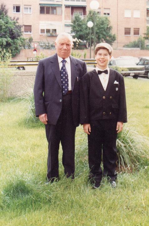 Lo mismo con el abuelo Román.