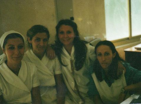 Rosalía, Bea, Merche, Luci.