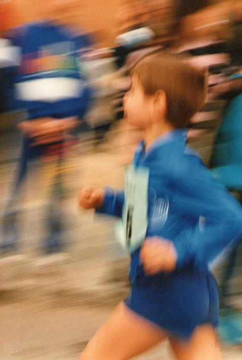 Da comienzo la carrera. Corre, corre, correeeeeeeeeeee.