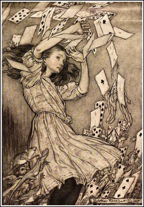 アーサー・ラッカムのアリス(1907年)