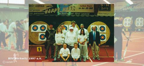 Hallenlandesmeisterschaft in Dessau 2001 - BSV Merkwitz 1997
