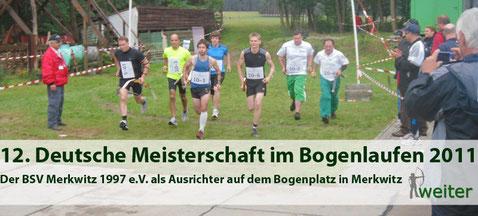 Foto - 12. DM im Bogenlauf in Merkwitz