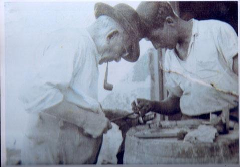 S. Manuel Quevedo y D. Jose Suarez Oliva 1945-1950