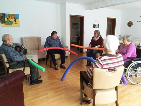 vielseitige Beschäftigung in der Tagespflege Seedorf Zeven Niedersachsen