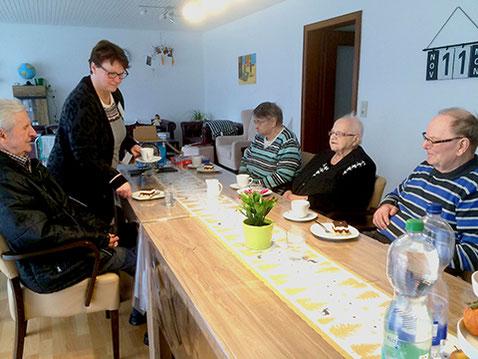 Mahlzeiten in gemütlicher Runde Tagespflege Seedorf Zeven Niedersachsen