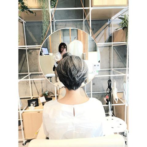 横浜 石川町 美容室 ヘアドネーション  ショート