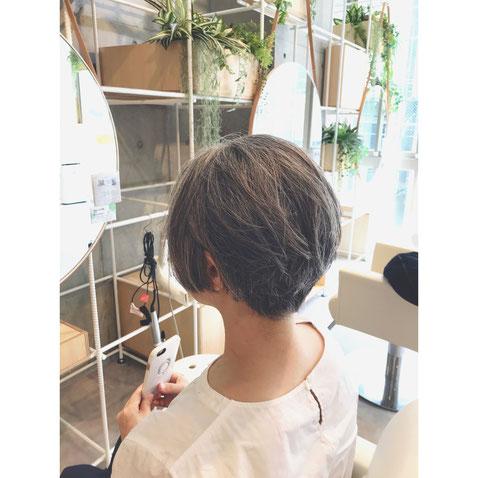 横浜 石川町 美容室 ヘアドネーション  ショートスタイル ヘアスタイル