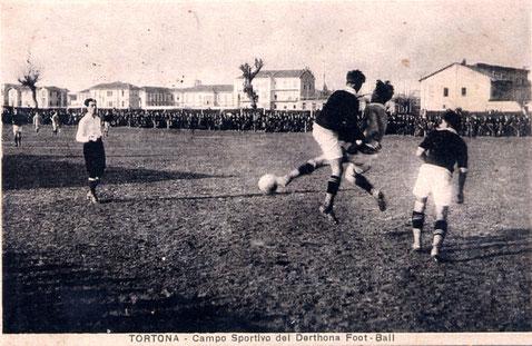 Tra il 1920 e il 1925 al Campo Fornaci