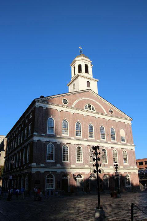 Die Faneuil Hall ist eines der ältesten Gebäude von Boston.