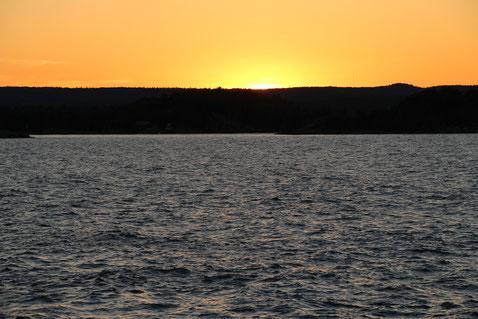 Sunset im Presque Isle Park, Marquette, MI