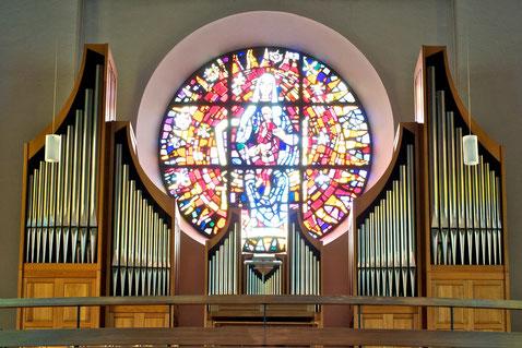 Orgel Pfarrkirche Altenstadt