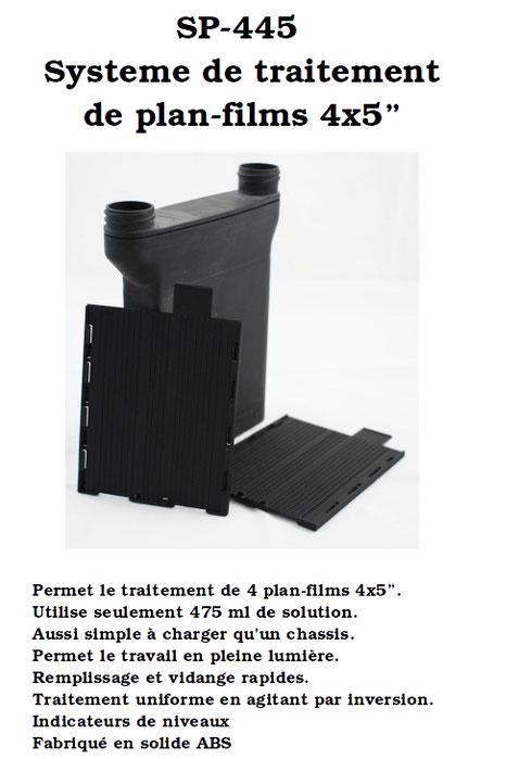 """EXCLUSIF !!! Cuve pour 4x5"""" SP-445"""