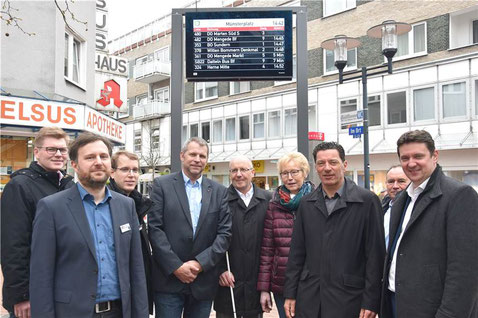 Offizielle Einweihung der DFI-Anlage in Castrop-Rauxel (Quelle: www.ruhrnachrichten.de)