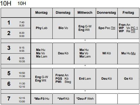 Bbs fredenberg stundenplan