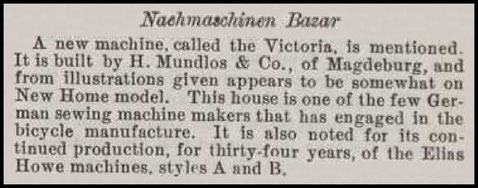 October 25, 1899 Sewing Machine Times