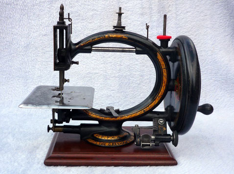 Although first patented in 1867 this particular machine would be circa early 1870's