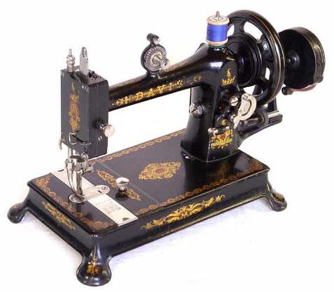 DAVIS  model 2  (hand crank)  # 363.634  (from naehmaschine-antik)